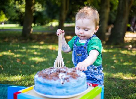 Cake Smash at the Park