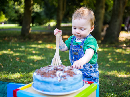 Cake Smash at the Park