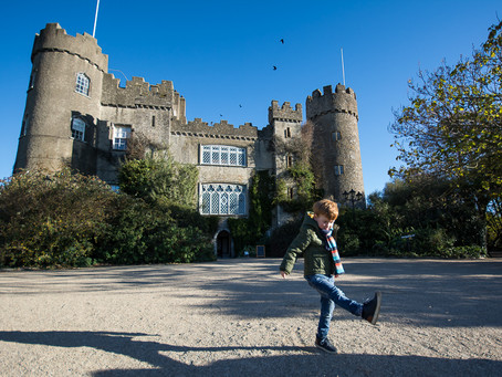 Winter Family Session at Malahide Castle