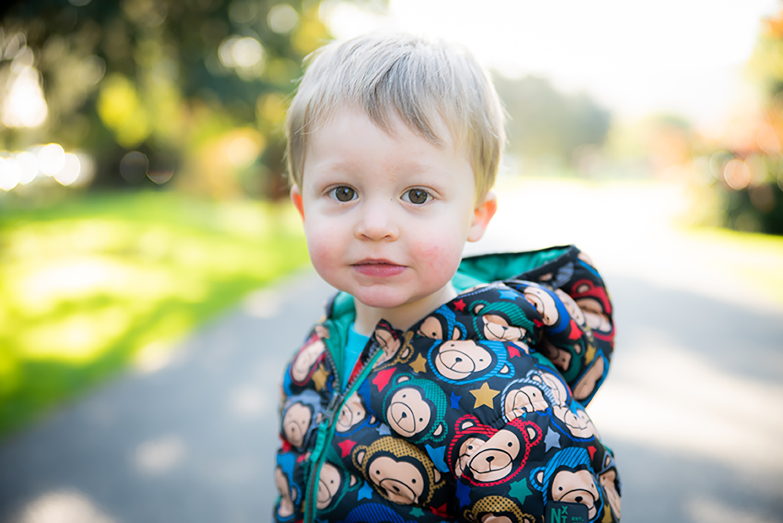 Little boy - Family Photoshoot at Marlay Park in Dublin by Camila Lee