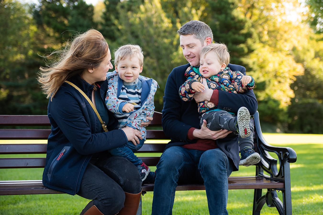 Family Photoshoot at Marlay Park in Dublin by Camila Lee
