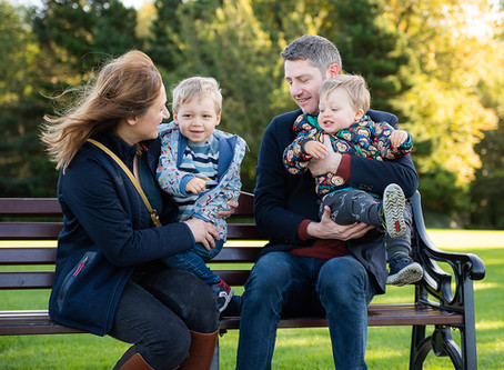 Family Photo Session at Marlay Park