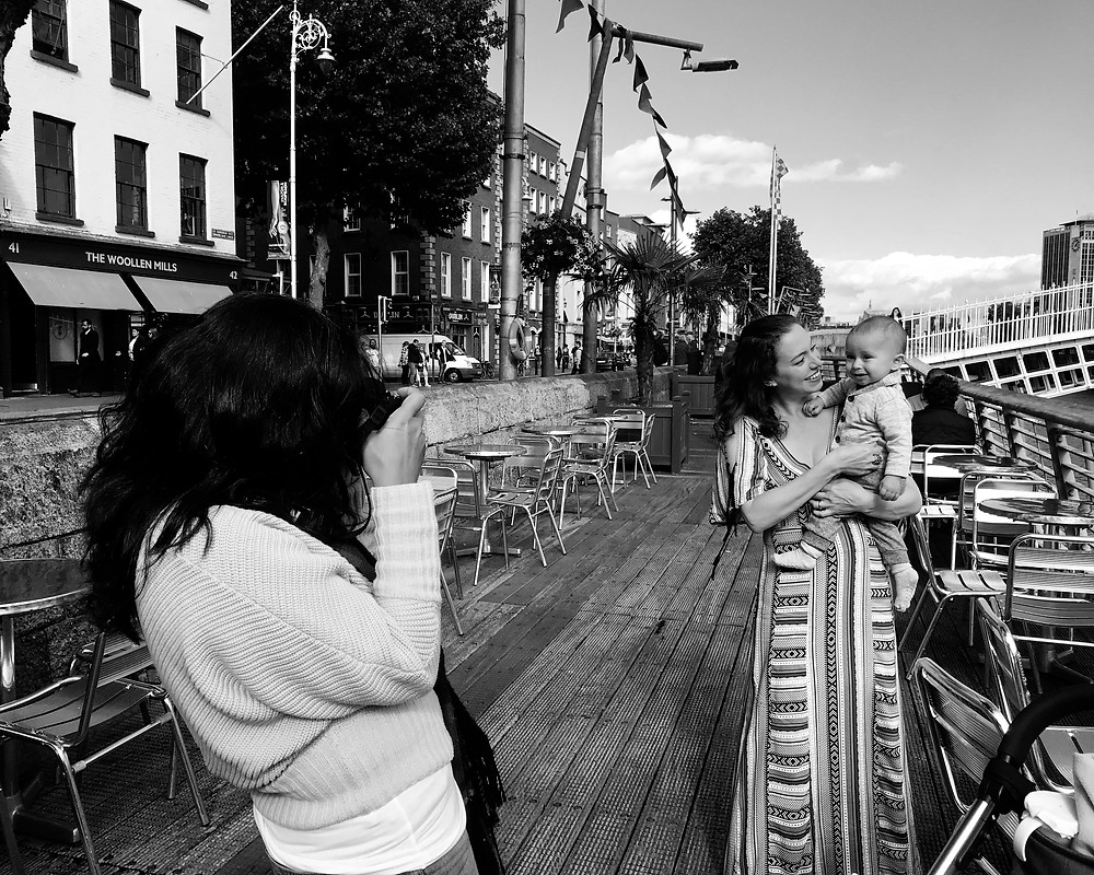 Camila photographing for Breastfeeding An Act Of Love | Camila Lee Photography | Dublin