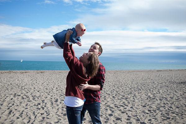 Family Photoshoot Greystones - Camila Le