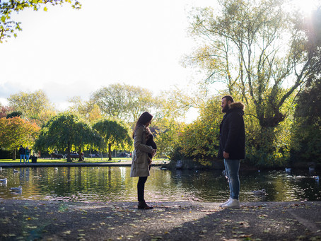Autumn Maternity Session at St Stephen's Green