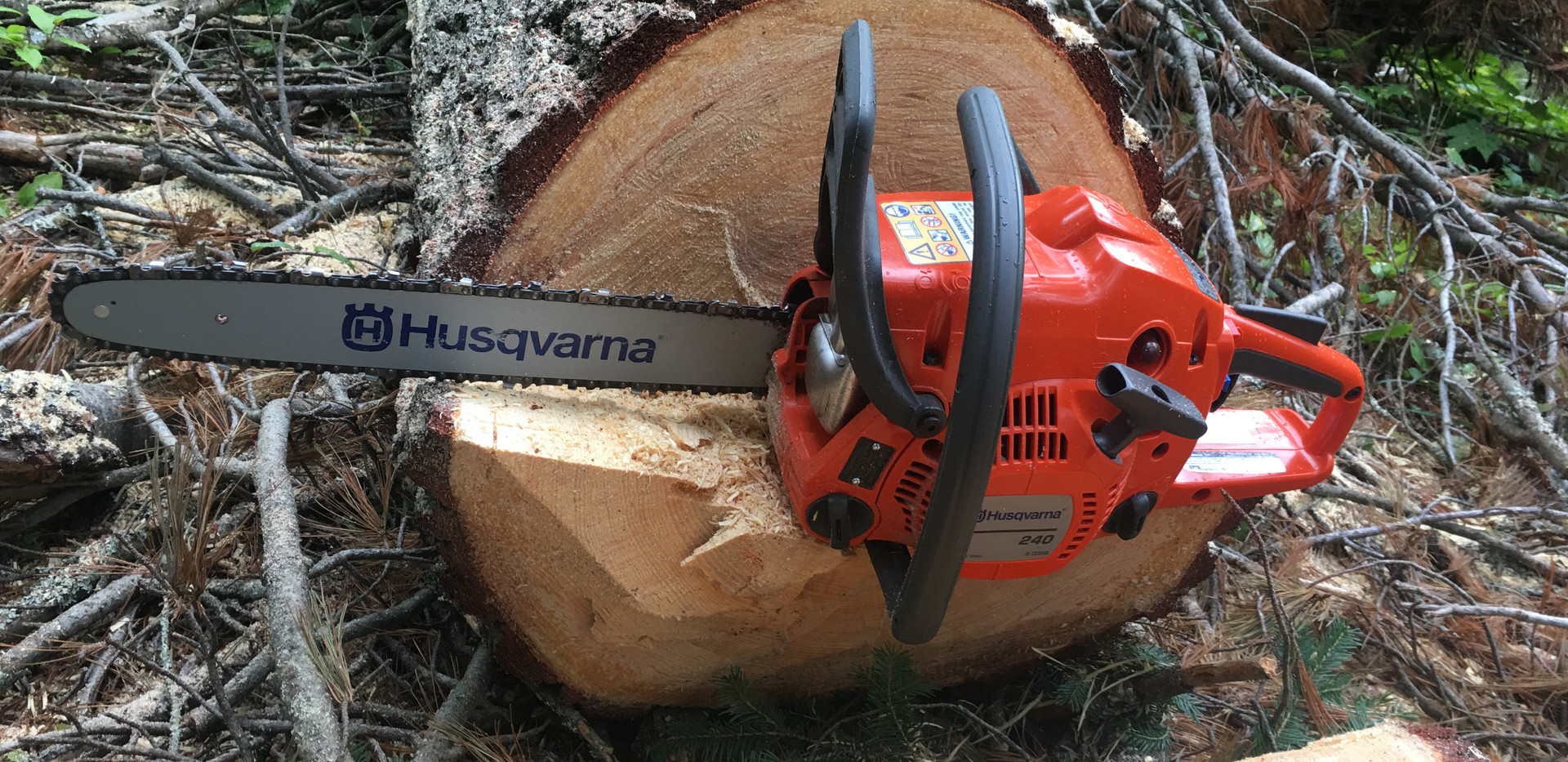 outdoor bootcamp chain saw