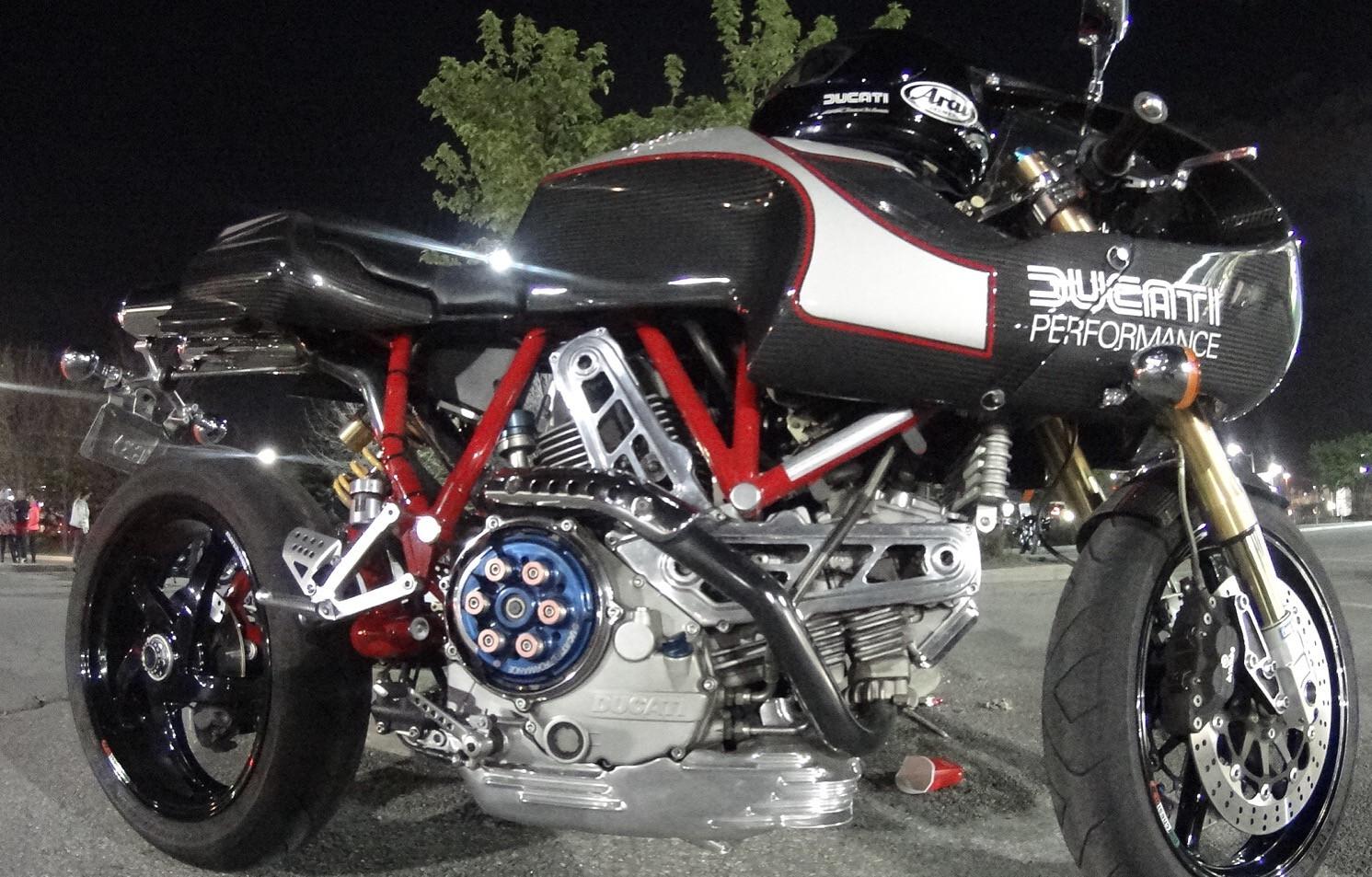 Toronto Moto Mechanic Race Motorcycle  Ducati