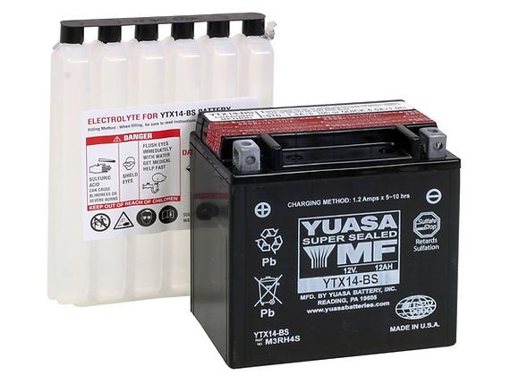 Yuasa AGM Battery YT14B-BS - YUAM624B4
