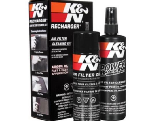 K&n Recharger air filter cleaner kit 99-5000 toronto ottawa ontario canada