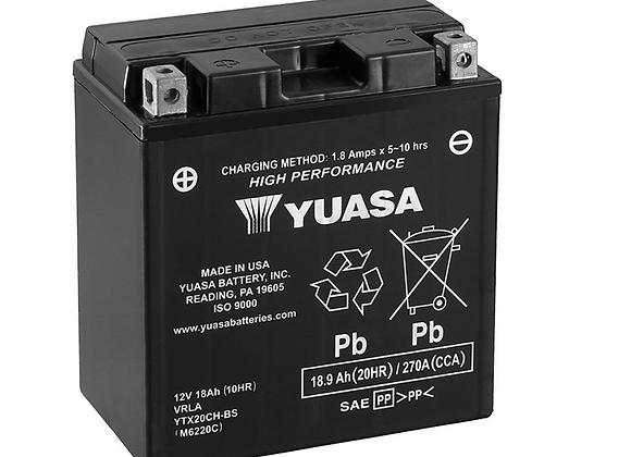 Yuasa High Performance Maintenance-Free Battery - YTX20CH-BS  YUAM6220C