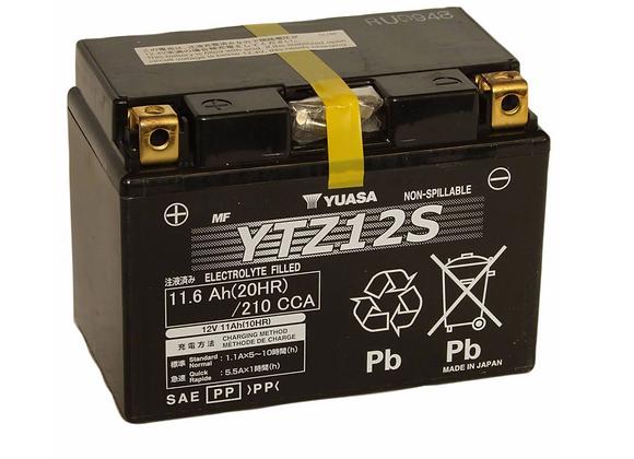 Yuasa Factory Activated Maintenance-Free Battery - YTZ12S YUAM7212A