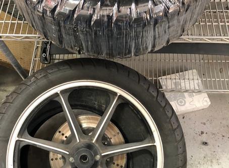 Choosing Motorcycle Tires