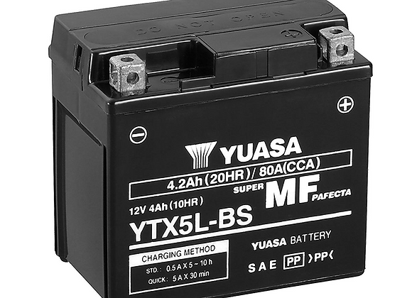Yuasa Maintenance-Free Battery - YTX5L-BS