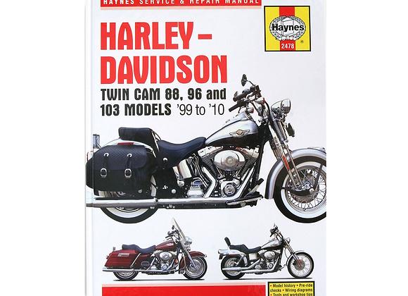 Haynes Repair Manual - Harley-Davidson Twin Cam 88 - 2478