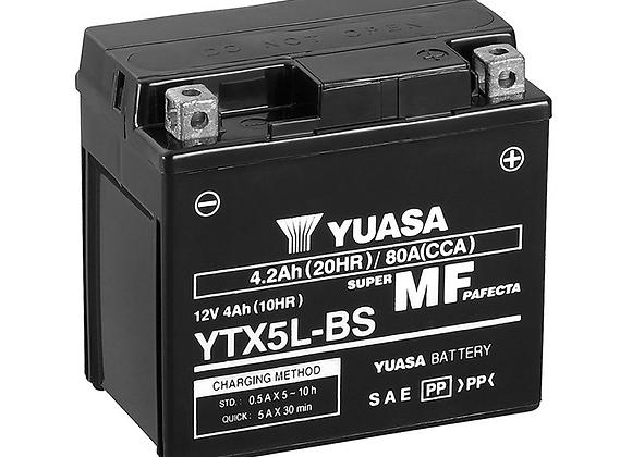 Yuasa AGM Battery YTX5L-BS - YUAM32X5B