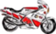 toronto moto FZ600 FZR 600 1000