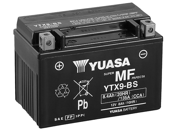 Yuasa Maintenance-Free Battery - YTX9-BS YUAM329BS