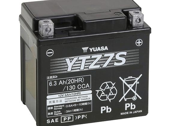 Yuasa Factory Activated Maintenance-Free Battery - YTZ7S YUAM727ZS