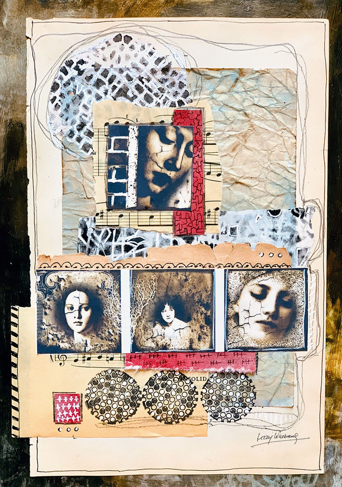 Collage for Stencilgirl Prompt #13