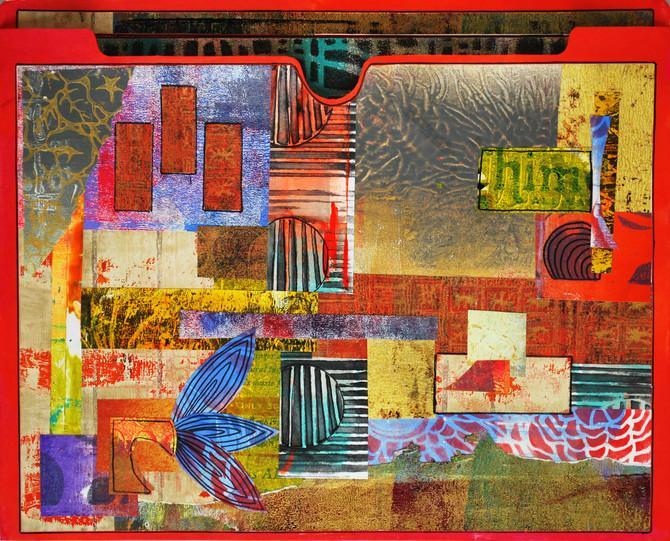 Collaged Folder