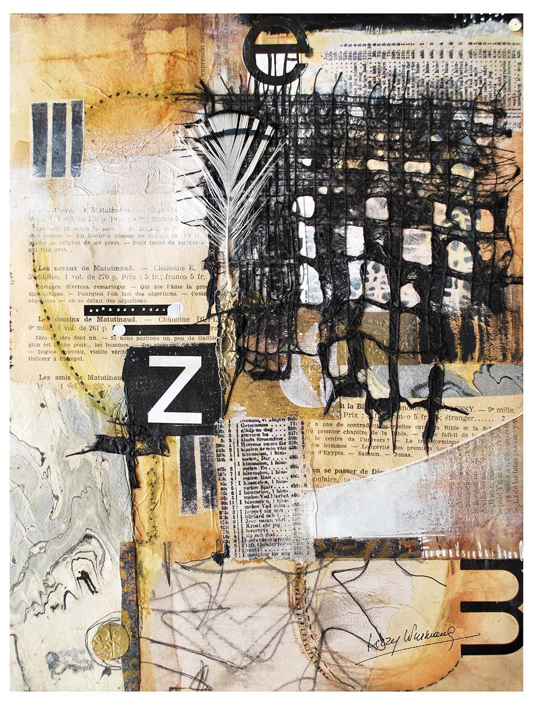 Neutral collage by Lizzy Wurmann