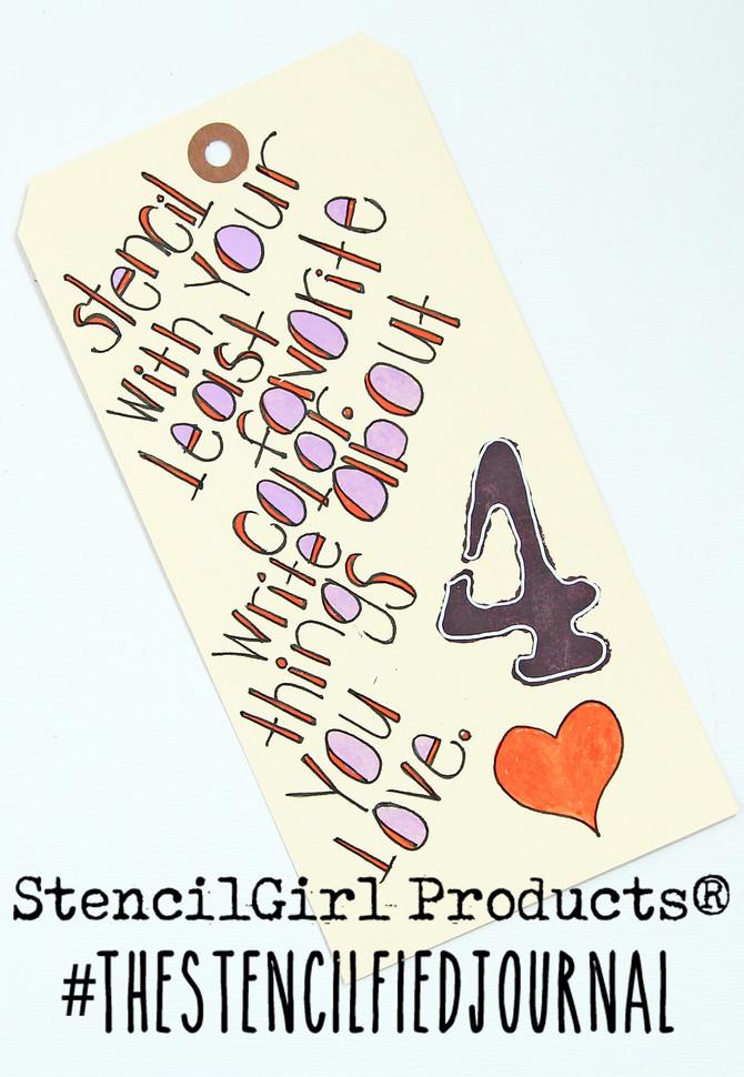 Stencilfied Prompt # 4