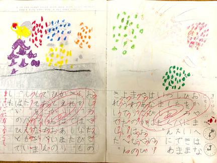 思い出の作品②〜夏休みの絵日記 1978年〜