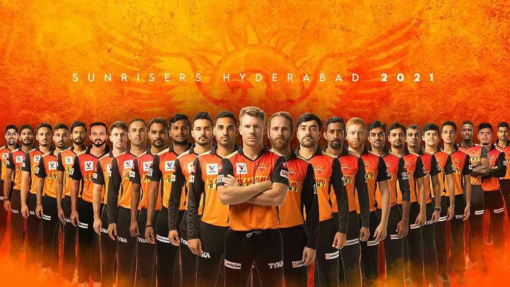 Sunrisers Hyderabad team 2021