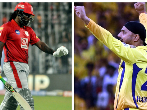 Gayle is 1 short of his 350th IPL six & Bhajji need to bowl 1 dot to complete 1250 dots, check more