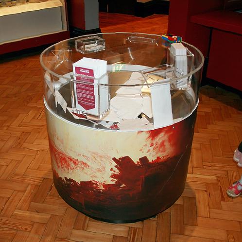 Steel Donation box
