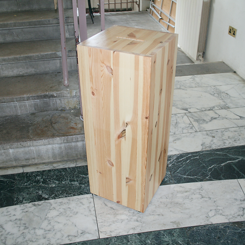 300 x 300 x 800 Wood Donation Box