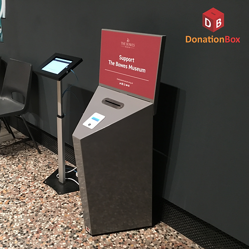 Steel Contactless Donation Box F