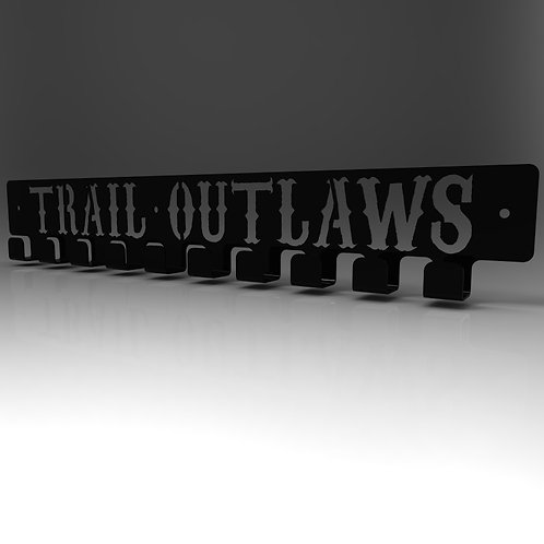 Trail Outlaws Medal Hanger