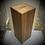 Thumbnail: 300 x 300 x 800 Wood Donation Box