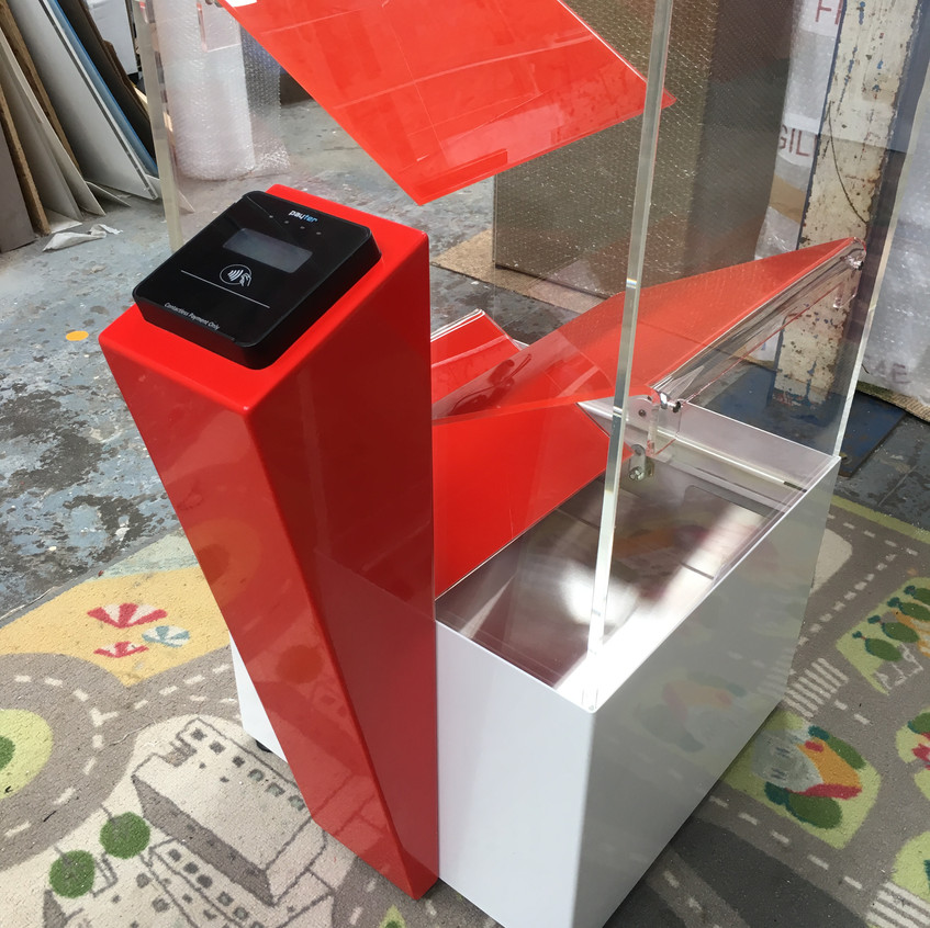 Contactless Donation Box