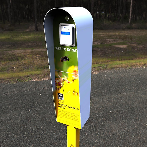 Contactless Outdoor C Donation Box