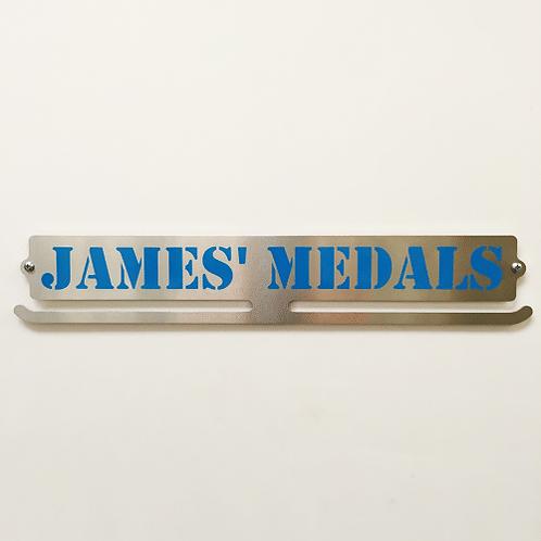 Custom Vinyl Medal Hanger - 44cm