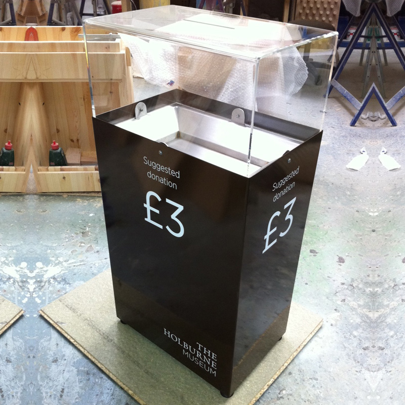 300-x-450-Steel-donation-box-Holbourne-Museum