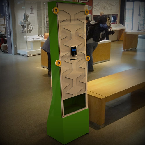 Interactive Contactless Donation Box