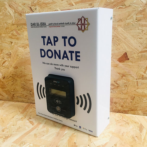 Wall Contactless Donation Box