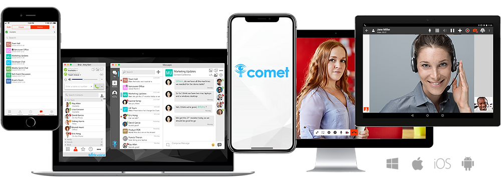 The perfect softphone platform supports Android, iPhone, Desktop, and Web Browsers all under one roof