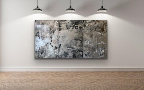 Silver Triptych