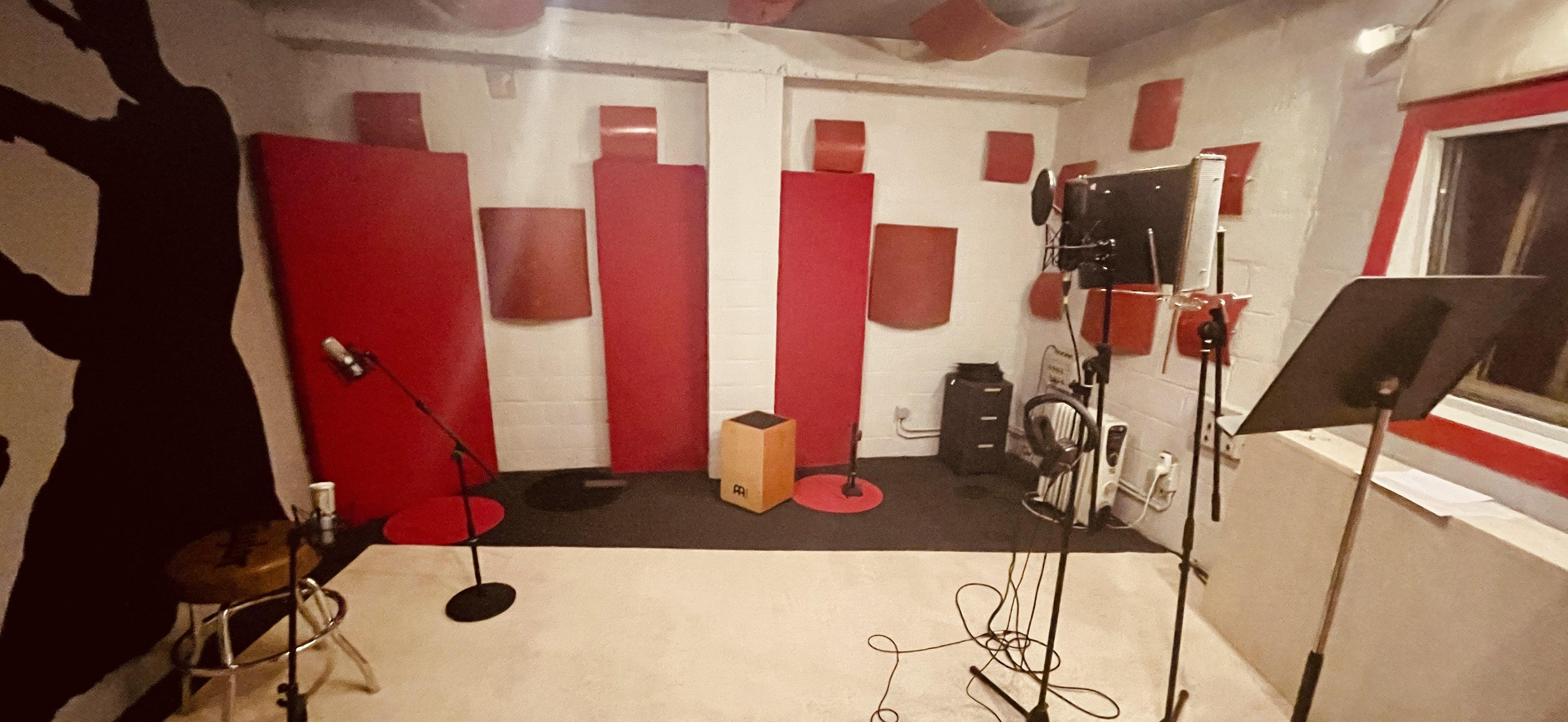 Cabine 2 Pro Sound Studio Mons
