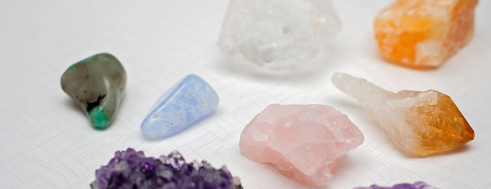 Healing crystals or gemstones_ Amethyst