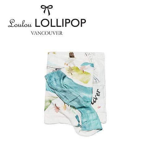 Loulou Lollipop┃竹纖維透氣包巾 - 加拿大溫哥華