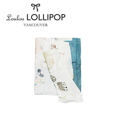Loulou Lollipop┃竹纖維透氣包巾 - 美國洛杉磯