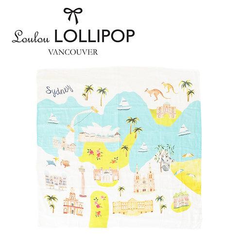 Loulou Lollipop┃竹纖維透氣包巾 - 澳洲雪梨