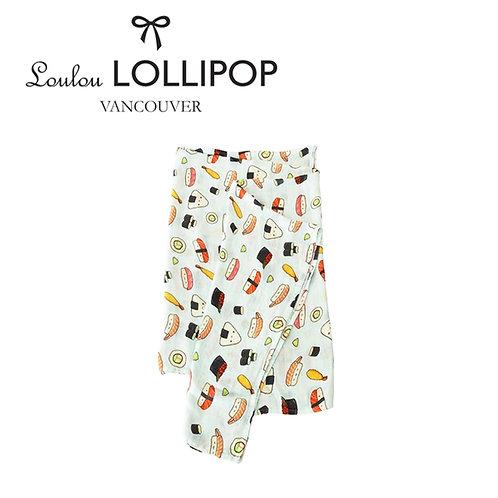 Loulou Lollipop┃竹纖維透氣包巾 - 好好吃壽司