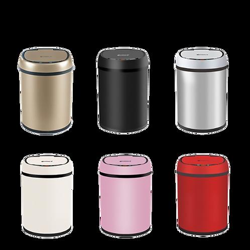 質感自動感應居家不鏽鋼垃圾桶 - 8L