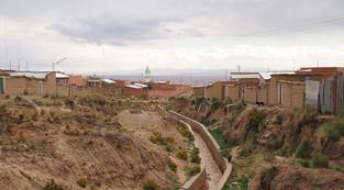 Barrios y cultura del Agua, Barrio Solidaridad, El Alto, Bolivia